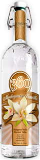 360 Vodka Madagascar Vanilla 1.00l